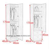 中国の製造業者の寝室の家具の小さい1つのドアのワードローブ
