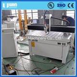 De goedkope Houten Deur die van het Verbindingsstuk van het Aluminium CNC maken die Scherpe Router machinaal bewerken