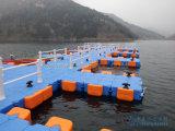 Calzada plástica el pontón de flotación