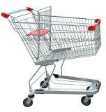 Вагонетка металла супермаркета/ручка оборудования тележки свободно