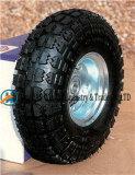 """10 """" ruedas neumáticas X3.50-4 con la rueda de goma"""