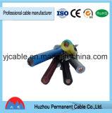 Kvv, cabo de cobre flexível do cabo de controle 0.6/1kv