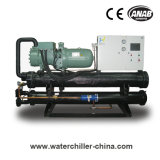 3pH-380V-60Hz R134A 120HP Luft abgekühlter Schrauben-Kühler