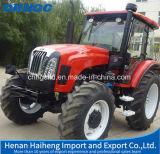 Trattore agricolo di vendita del trattore agricolo della Cina della nuova rotella calda di disegno 110HP 4