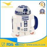 Tazza di caffè di ceramica poco costosa della tazza di tè di Star Wars con il coperchio