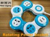 De professionele Roterende Contactdoos van de Macht met 2 USB
