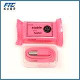 사랑스러운 사탕 실리콘 USB 케이블 충전기