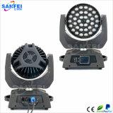 Hete Verkoop LED36PCS*10W die de HoofdWas van het Gezoem bewegen