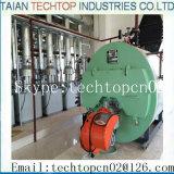 산업 응용을%s ASME 가스 또는 기름 연료 8 Ton/H 증기 보일러