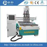 Multifunktionsatc 4 Kopf-pneumatischer 3D CNC-Fräser 1325