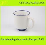 FDA de Ceramische Mok van de Sublimatie met de Kleur van de Rand en van het Handvat voor Koffie