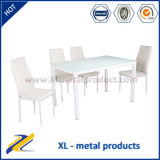 Migliore Sell Woodlike Painting Glass Dining Set Table e Chair