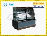 Il forno di marmo del corpo automatico disgela la vetrina del frigorifero della torta