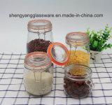 Стеклоизделие/стеклянный опарник хранения корабля/конфеты для домашней мебели