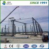 倉庫の研修会の工場オフィスのための中国の鉄骨構造の建物