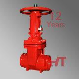 Válvula de porta da válvula de controle da proteção de incêndio