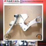 Il CNC dell'acciaio della parte di recambio del macchinario di rotazione ha forgiato i pezzi meccanici lavorati pezzo