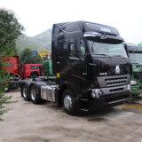 2016 Precio estrenar Sinotruk HOWO A7 420HP 6X4 Camión Tractor