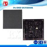 Im Freien Animation/Film/Bildschirm SMD Abbildung-Bildschirmanzeige-Panel RGB-LED LED-Bildschirmanzeige-Panel P6 LED-Bildschirmanzeige-Baugruppe