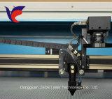 Jieda motorizou acima e tabela para baixo a gravura do laser e a estaca Machinejd-1390