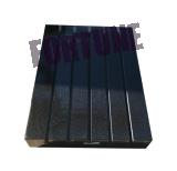 Präzisions-schwarze Granit-Oberflächen-Platte mit T-Schlitzen