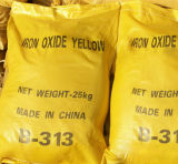 Alto color que estaña el pigmento del amarillo del óxido de hierro (313) para la pintura, ladrillo, plástico