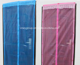 Cortina decorativa magnética da tela da porta do engranzamento da rede de mosquito