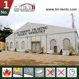 80 x 80 marokkanische Zelte für den Verkauf verwendet worden für Kirche-Sitzung mit Seitenwänden für 500 Leute