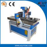 Ranurador del CNC del eje de la máquina de grabado del ranurador del CNC 4 con rotatorio