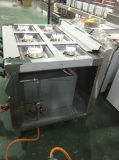 Fornello di gas commerciale 8-Burner di Hgr-98g con il forno di gas