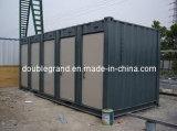 Camera prefabbricata vivente del contenitore del pannello a sandwich della struttura d'acciaio di 20FT
