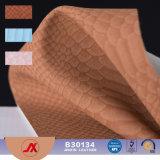 Modelo de cuero sintetizado de la serpiente de la venta de la alta calidad caliente de la manera