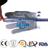 반지 Mesh Industry Gloves 또는 Five Finger Chain Mail Gloves/Stainless Steel Gloves