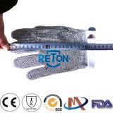 Guanti/cinque guanti di industria della maglia dell'anello dell'acciaio della posta Chain Gloves/Stainless della barretta