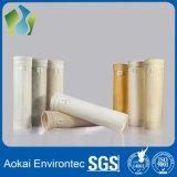 Sachet filtre de la poussière industrielle de PTFE pour le collecteur de poussière