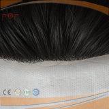 Тип парик части волос женщин штока 100% черного облегченного полного шнурка 10X18cm верхний прифронтовой