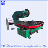 Máquina ligera del sacador del CNC del panel LED del LED con la plataforma que introduce