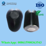 Cubierta del radiador del bastidor de aluminio para el disipador de calor ligero del LED