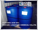 Acide gluconique préservatif de l'agent 50%