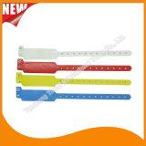 Unterhaltungs-Vinylplastik-Identifikationwristband-Armband-Bänder (E6060B45)