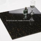 Carrelages Polished de porcelaine de matériau de construction de charge de Bulatti de couleur noire doubles