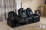 Hauptkino-lederner Stuhl für Film-Theater-Stuhl-Aufenthaltsraum-Stuhl mit Recliner