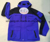 Куртка людей нагретая, куртка лихорадки, куртка зимы, Nylon куртка