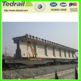 Vagão especial para ponte pré-fabricada