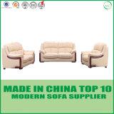 Conjunto de cuero del sofá de la oficina 1+2+3 modernos