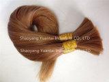 Extensiones teñidas del bulto del pelo humano del color hechas del pelo de la Virgen