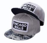 Chapéu máximo liso do Snapback dos bonés de beisebol do chapéu do tampão do esporte