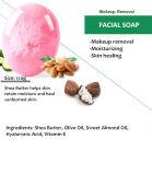 100% كلّ طبيعيّة معمل [سورسد] وجه غسل تنظيف صابون [80غ]