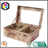 Schaumgummi-Schoner-steifer Pappmagnet-kosmetischer verpackenkasten