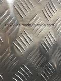 Выбитый алюминиевый лист проступи